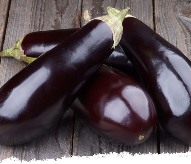 Selecting eggplant