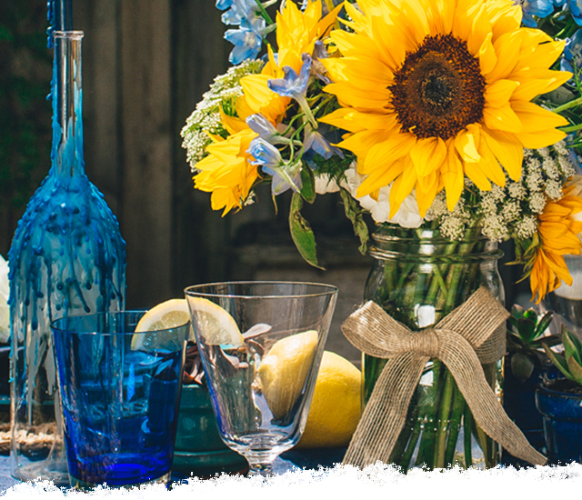 Fresh Summer Tablescape