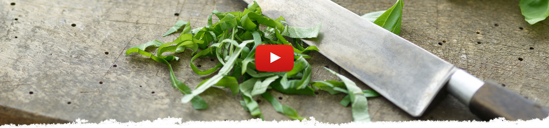How to Chiffonade Basil