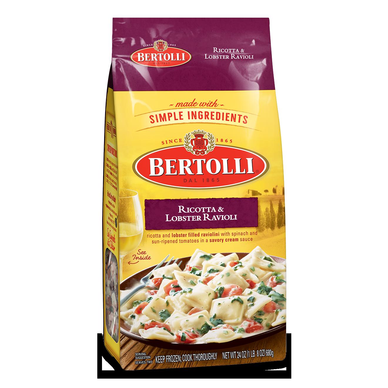 Bertolli® Ricotta & Lobster Ravioli - Bertolli