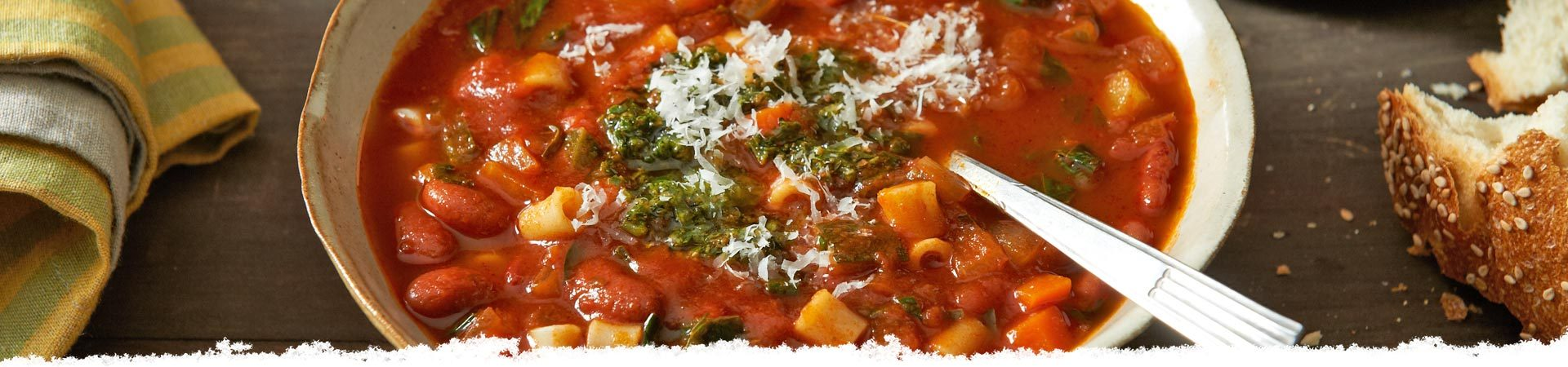 Balsamic Minestrone Soup