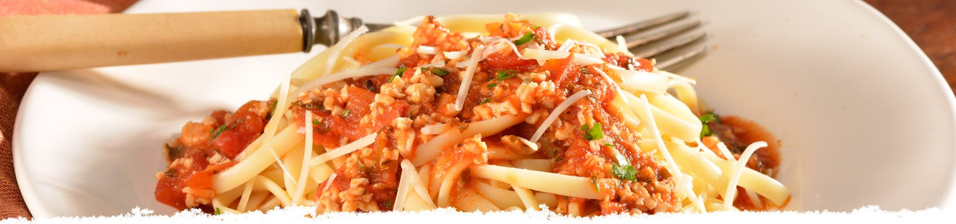 Bertolli Linguine with Red Clam Sauce