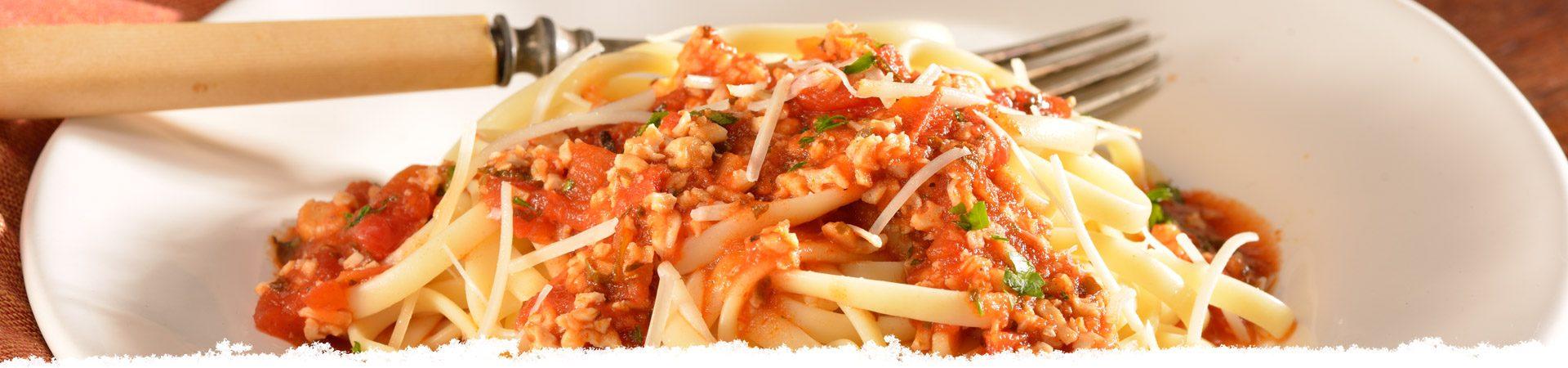 Bertolli Linguine with Red Clam Sauce