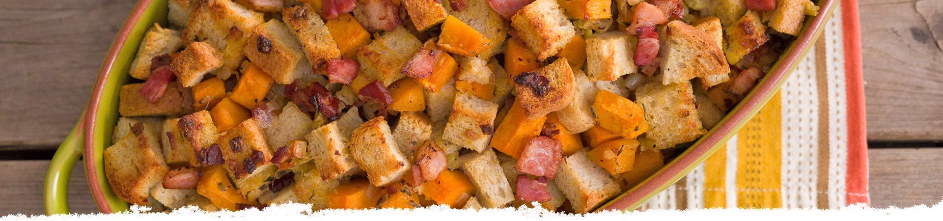 Butternut Squash and Pancetta Stuffing