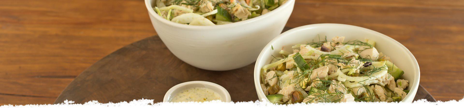 Crunchy, Creamy Super Slaw Salad