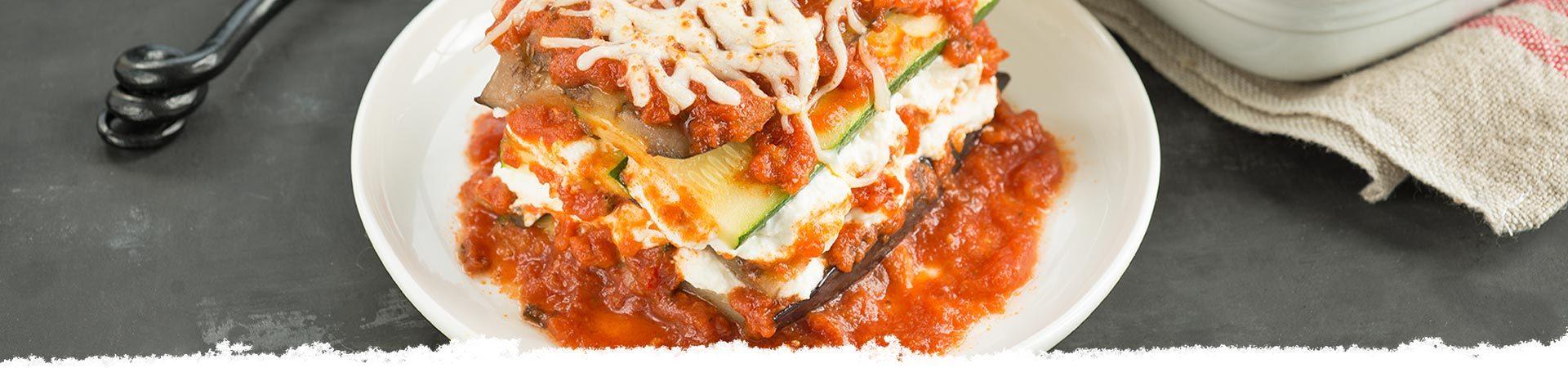Eggplant & Zucchini Lasagna