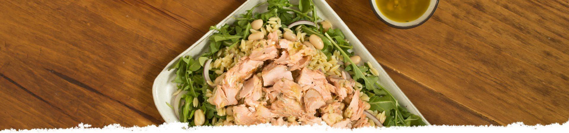 Italian Salmon Salad