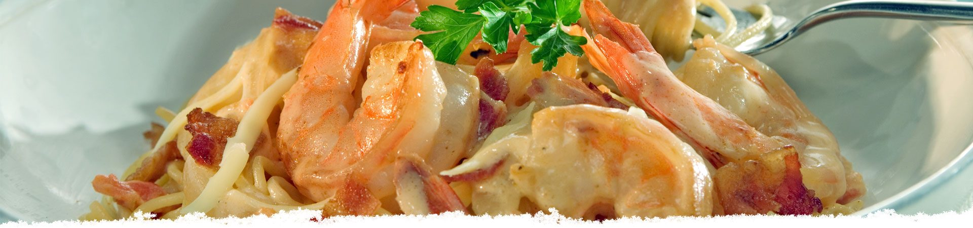 Shrimp Rosa with Bacon