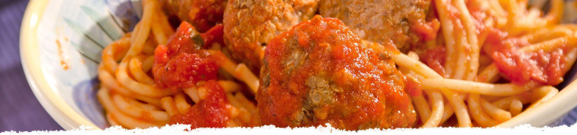 Spaghetti & Quinoa Meatballs