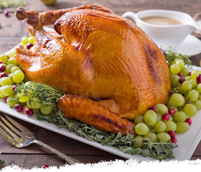 Cranberry Riesling Brined Turkey