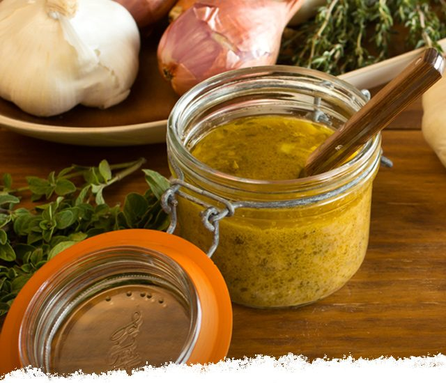 Garlic and Herb Vinaigrette