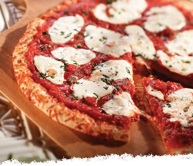 Grilled Pizza Margherita