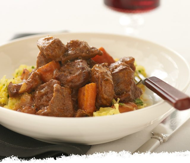 Lamb Stew with Spaghetti Squash