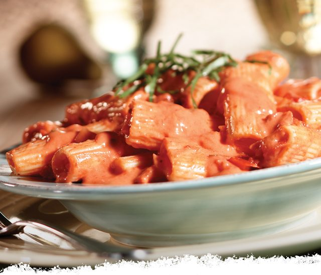 Rigatoni in Vodka Sauce
