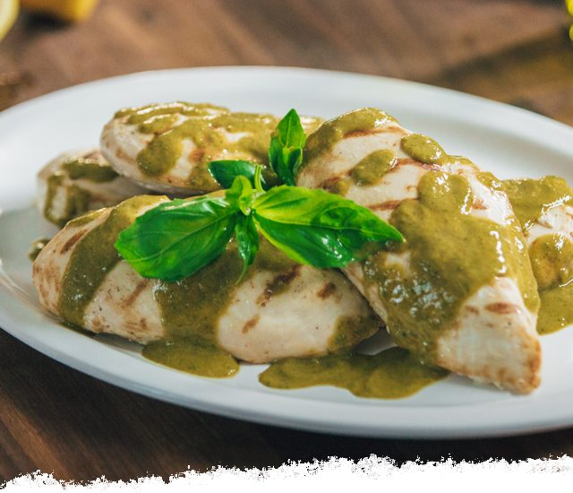 Tangy Basil Sauce and Marinade