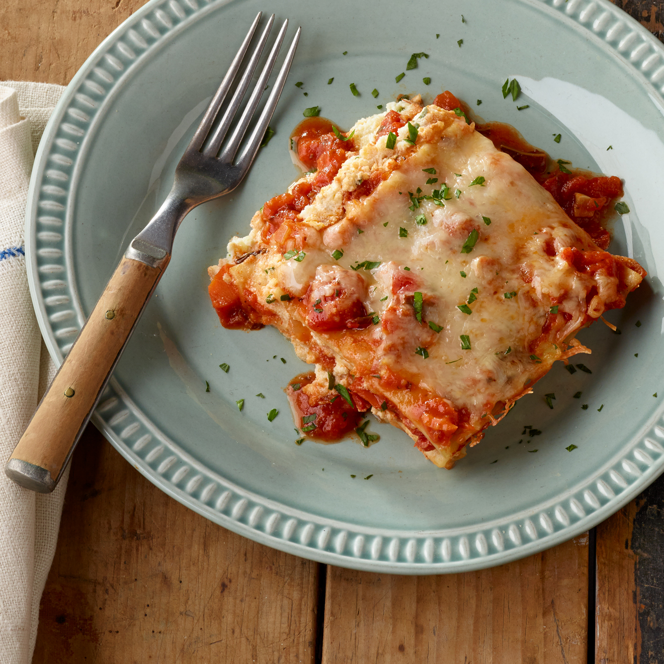 Hearty Tuscan Vegetable Lasagna