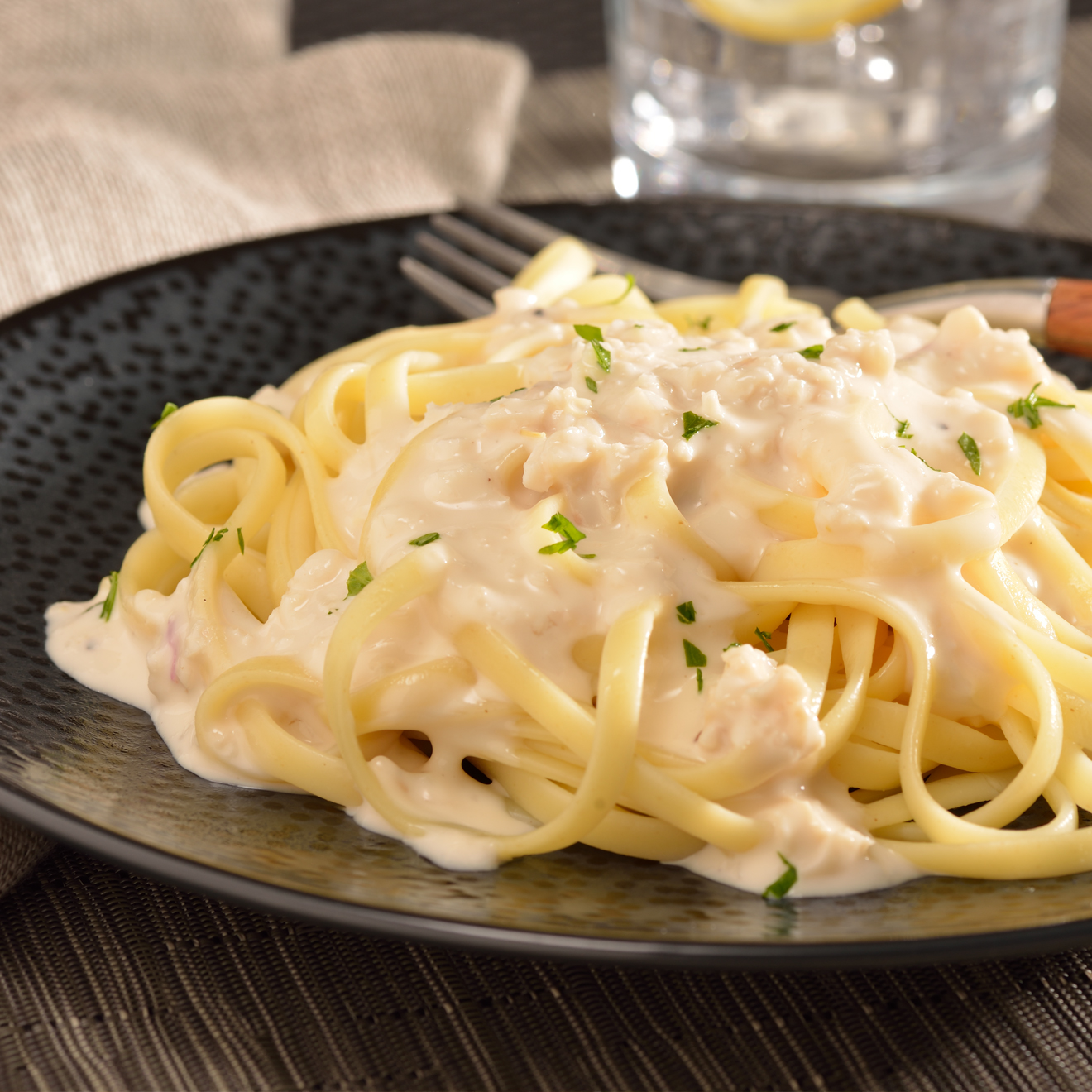Linguine With Creamy White Clam Sauce Recipe