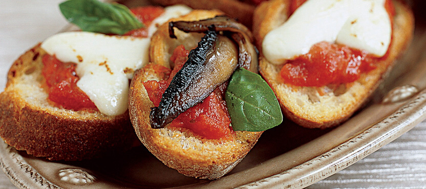 Bruschetta with Vidalia Onions