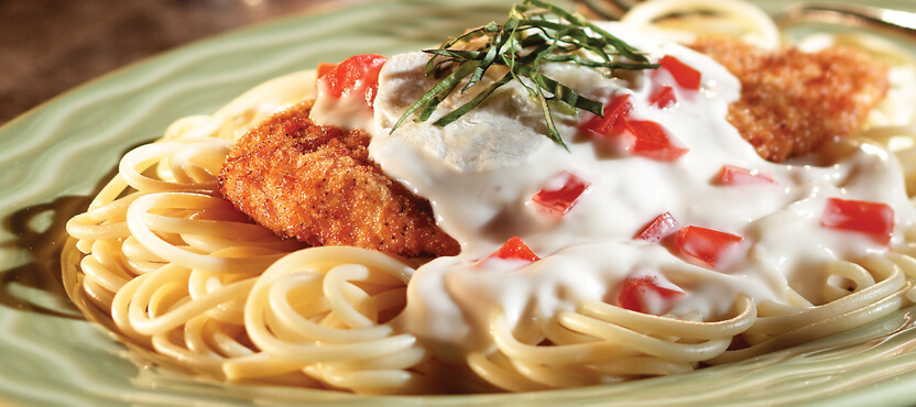 No-Fry White Chicken Parmigiano