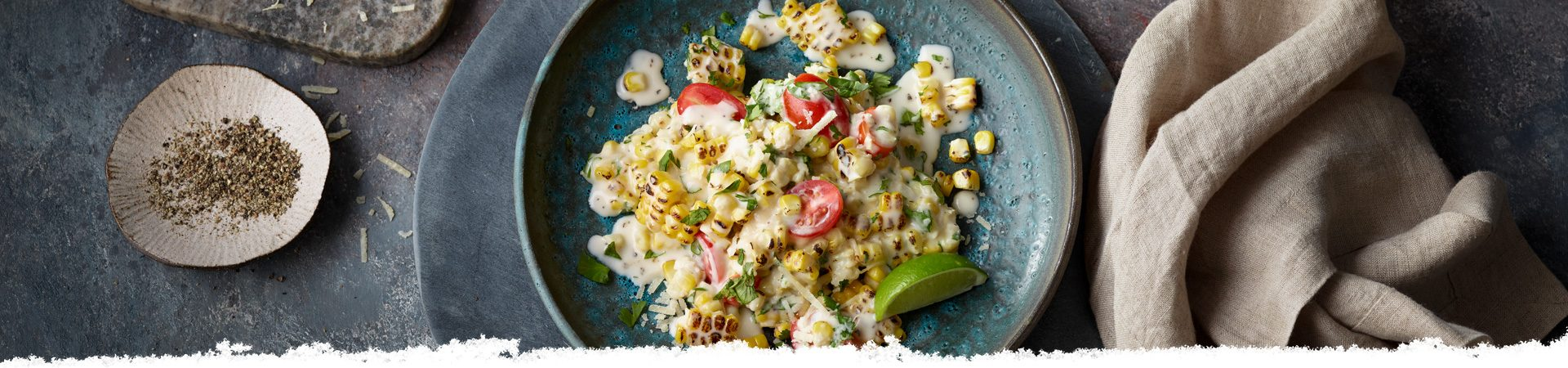 Fresh Fire-Roasted Corn Salad