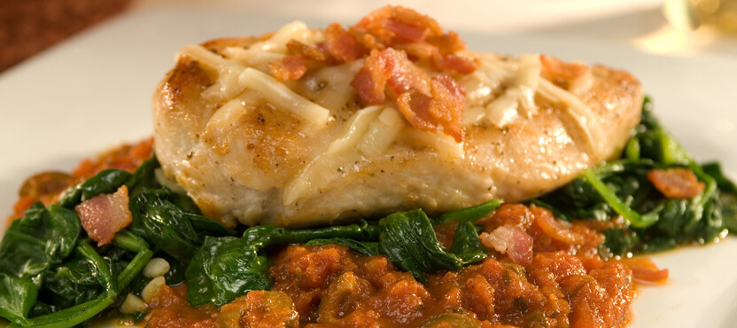 Chicken & Bacon Florentine