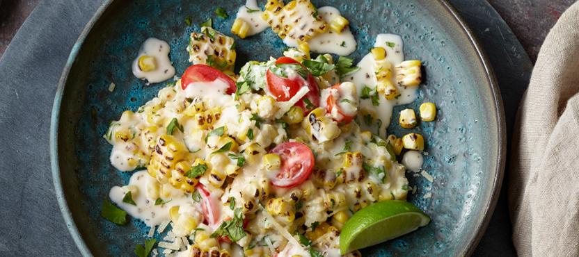 Fresh Fire-Roasted Corn Salad