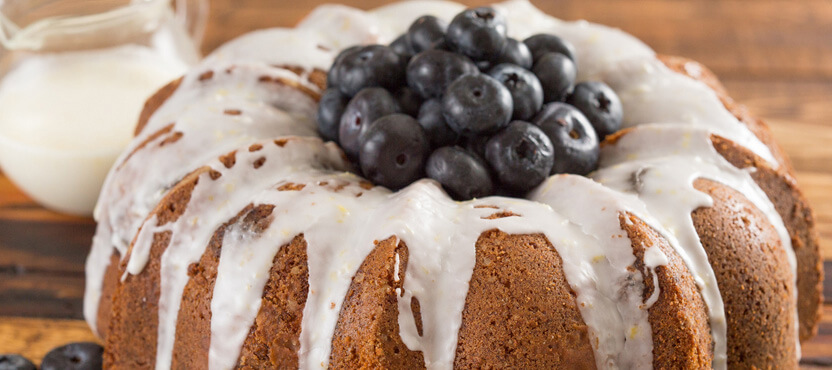 Limoncello Blueberry Cake