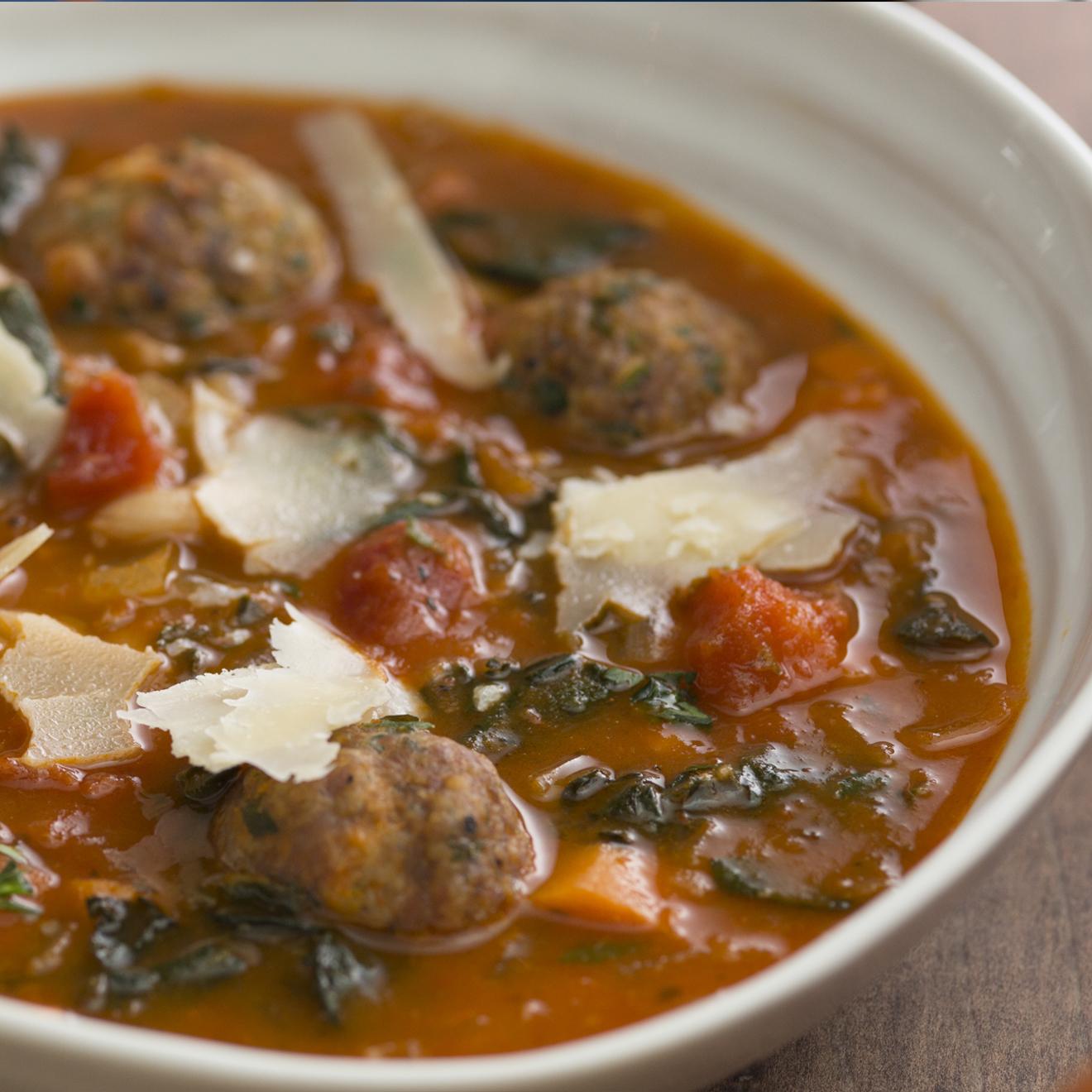 White Bean and Sausage Soup - Bertolli
