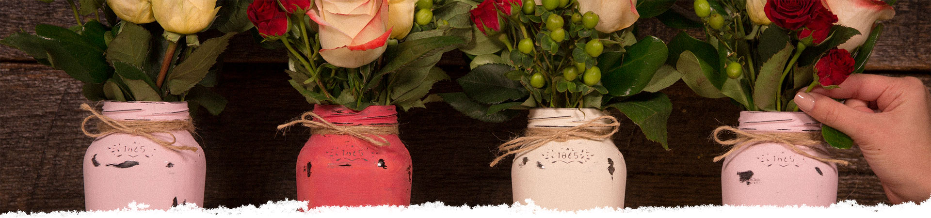 How To Repurpose Your Bertolli<sup>®</sup> Jars Into Flower Vases