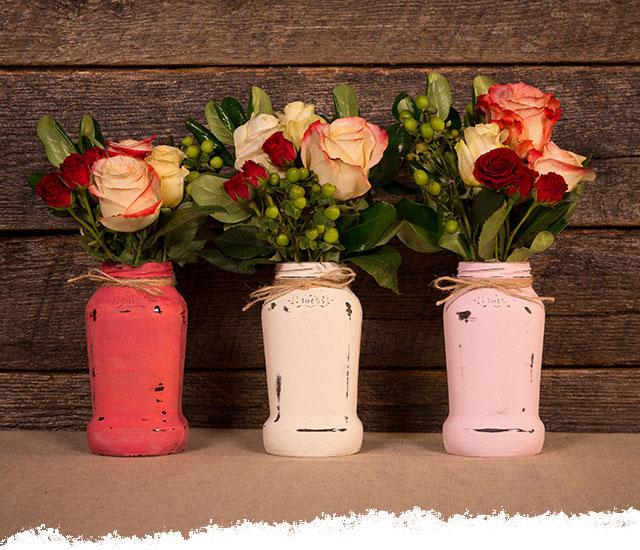 How To Repurpose Your Bertolli<sup>®</sup> Jars Into Flower Vases