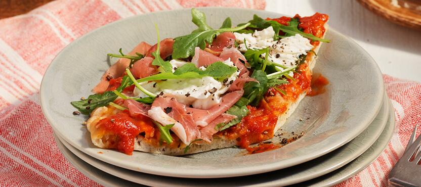 Prosciutto & Burrata Flatbread